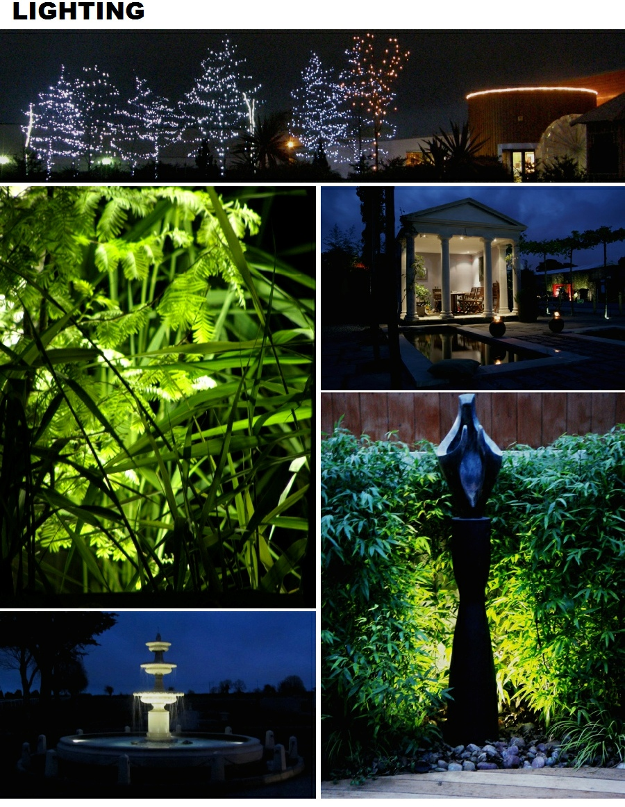 Garden Lighting Plans Mood Night