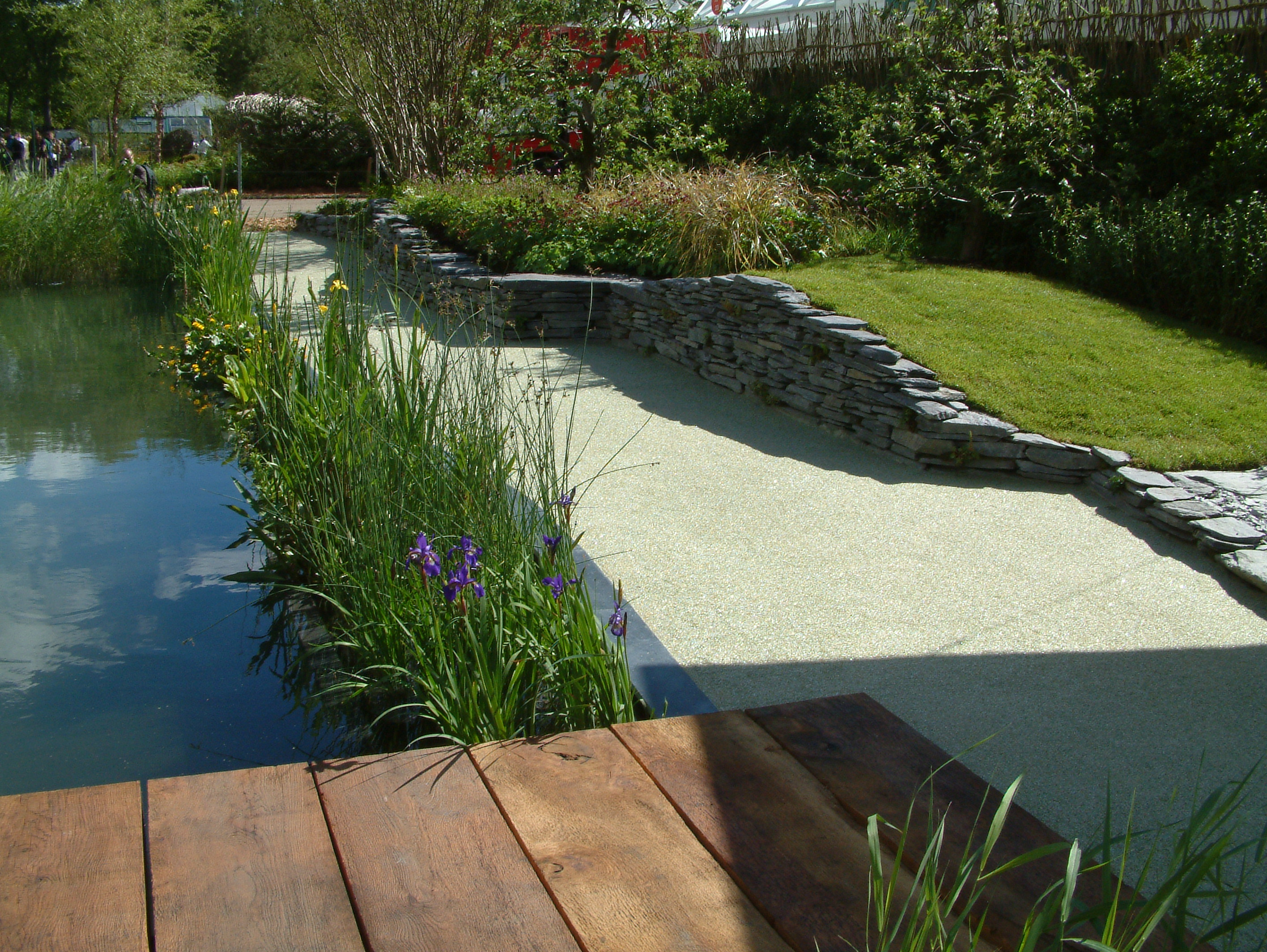 natural swimming pool chelsea flower show